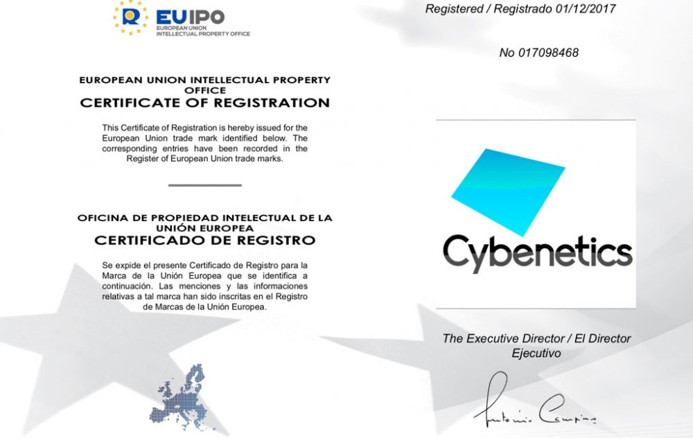 EUIPO Registration Certificate